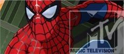 Spiderman on MTV... gay, just gay.